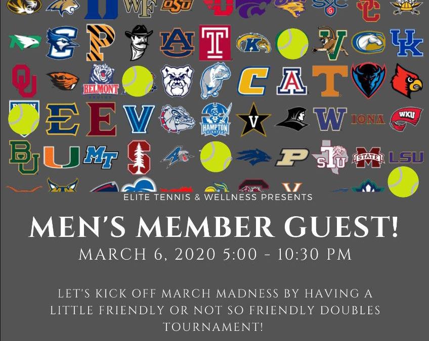 Men's Member Guest